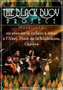 Poster black buoy project 12 juin 2015